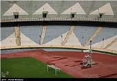 مراحل ساخت صندلیهای طبقه دوم ورزشگاه آزادی