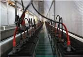 تصاویر/ خطوط تولید باتریهای پیشرفته در وزارت دفاع