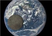 ناسا ماه و زمین