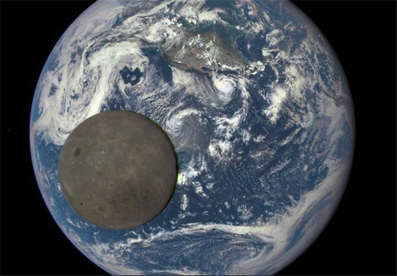 """بالفیدیو.. """"ناسا"""" تصور """"الجانب الآخر"""" من القمر"""