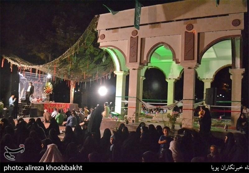 افتتاح یادمان شهدای گمنام بوستان زمزم