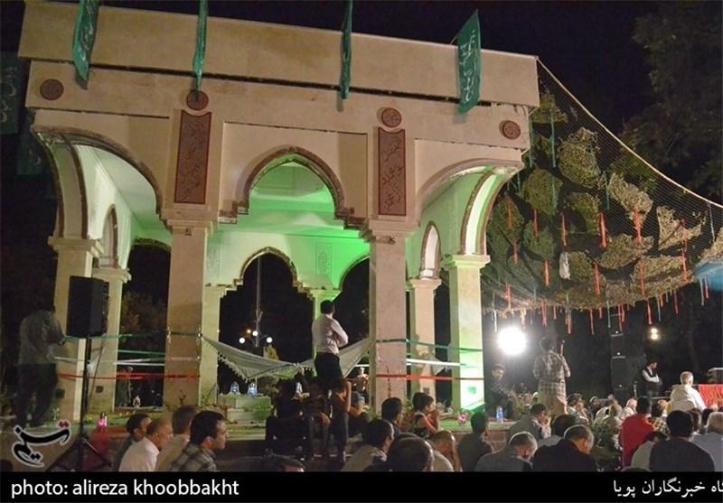 مراسم رونمایی یادمان شهدای گمنام بوستان زمزم+عکس