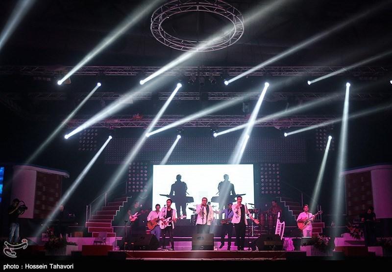 کنسرت گروه سون در کیش