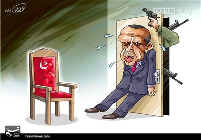 کاریکاتور/ کودتا در ترکیه!!!