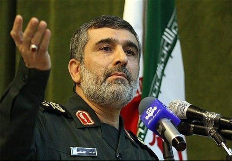 العمید حاجی زادة: مستعدون مئة بالمئة للرد على تهدیدات العدو المحتملة