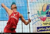پنجمین دوره مسابقات والیبال ساحلی کشور در مازندران