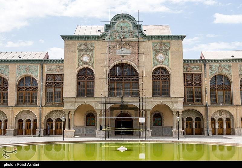 Image result for بازگشایی «عمارت مسعودیه» خانه پسر ناصرالدین شاه
