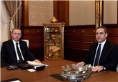 اردوغان: احتمالاً رئیس سازمان اطلاعات ترکیه به آمریکا رفته باشد