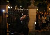 مواجهات بین متظاهرین ضد العنصریة والشرطة فی أمریکا