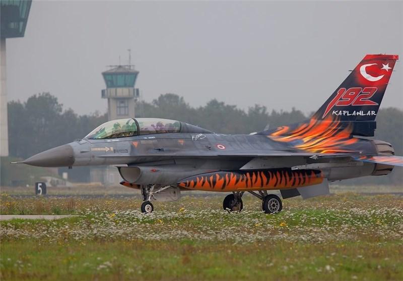 جنگنده اف 16 ارتش ترکیه