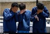دستگیری باند سارقان زورگیر زاهدان با 15 فقره سرقت توسط پلیس