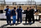 دستگیری باند سارقان منزل و توزیع کنندگان مواد مخدر در کرج