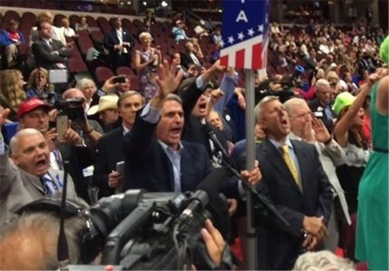 Republican Convention, Set to Nominate Donald Trump, Puts Down Protest