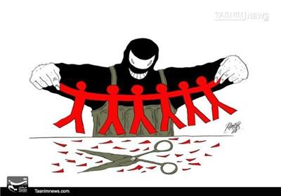 کاریکاتور/ گسترش تروریسم از معضلات بزرگ جهان!