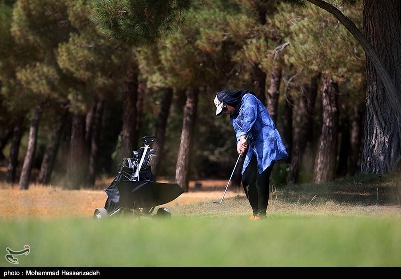 تصاویر: دختران گلف باز تهران,مسابقات گلف بانوان در تهران,گلف بازی دختران,دختران ورزشکار تهران