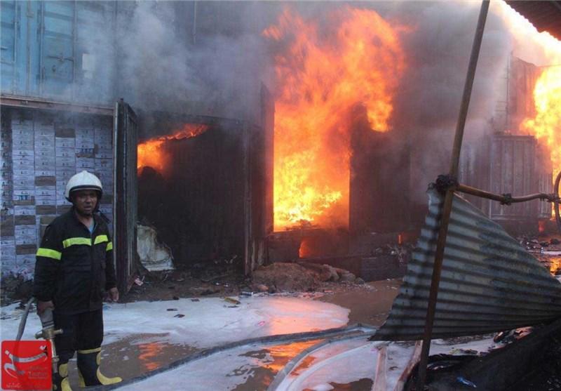 آتش سوزی در هرات 7