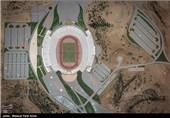 روند بازسازی ورزشگاه یادگار امام یک هفته مانده به آغاز لیگ برتر - تبریز