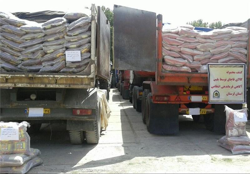46 تن برنج قاچاق در اشکذر کشف شد
