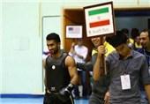 سجاد عباسی مسابقات ووشوی قهرمانی آسیا را از دست داد