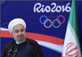 President: Iran Olympic Athletes Should Spread Message of Peace
