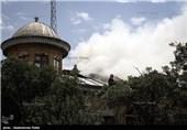 آتش سوری در میدان تاریخی امام همدان