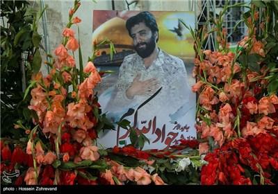 مراسم یادبود شهید جاویدالاثر مدافع حرم جواد الله کرم