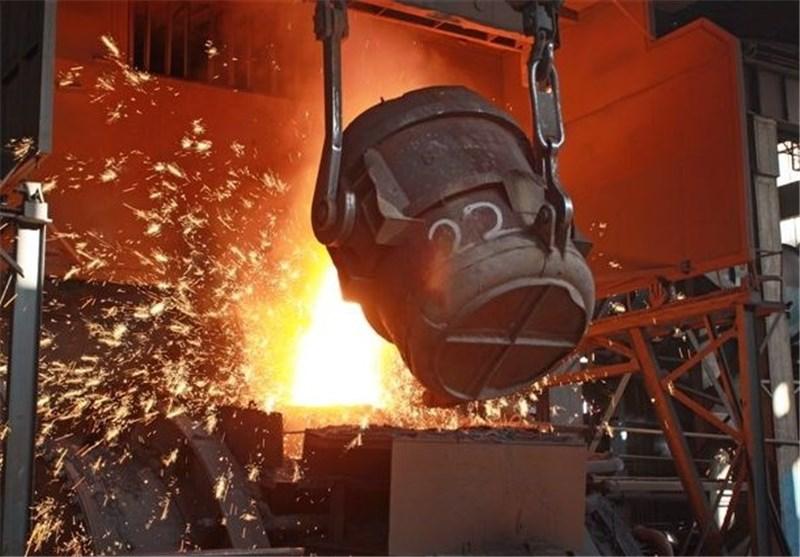 یک سوم تولید فولاد کشور صادر شد