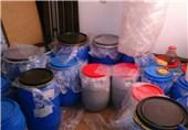 کشف و ضبط 400 لیتر مشروبات الکلی از یک منزل مسکونی در نظرآباد