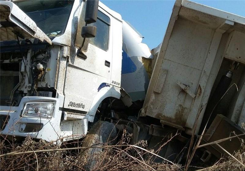 139505011347435248188824 - تصادف قطار مسافری با کامیون در محور شمال + عکس