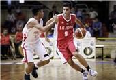 بسکتبال جوانان ایران و اندونزی