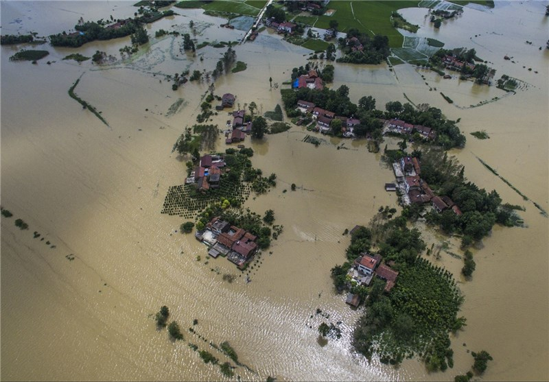 Flood Affects over 1.42mln People in East China Province