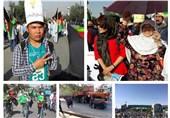 تظاهرات «روشنایی» بدون رهبران جنبش در کابل برگزار شد + تصاویر