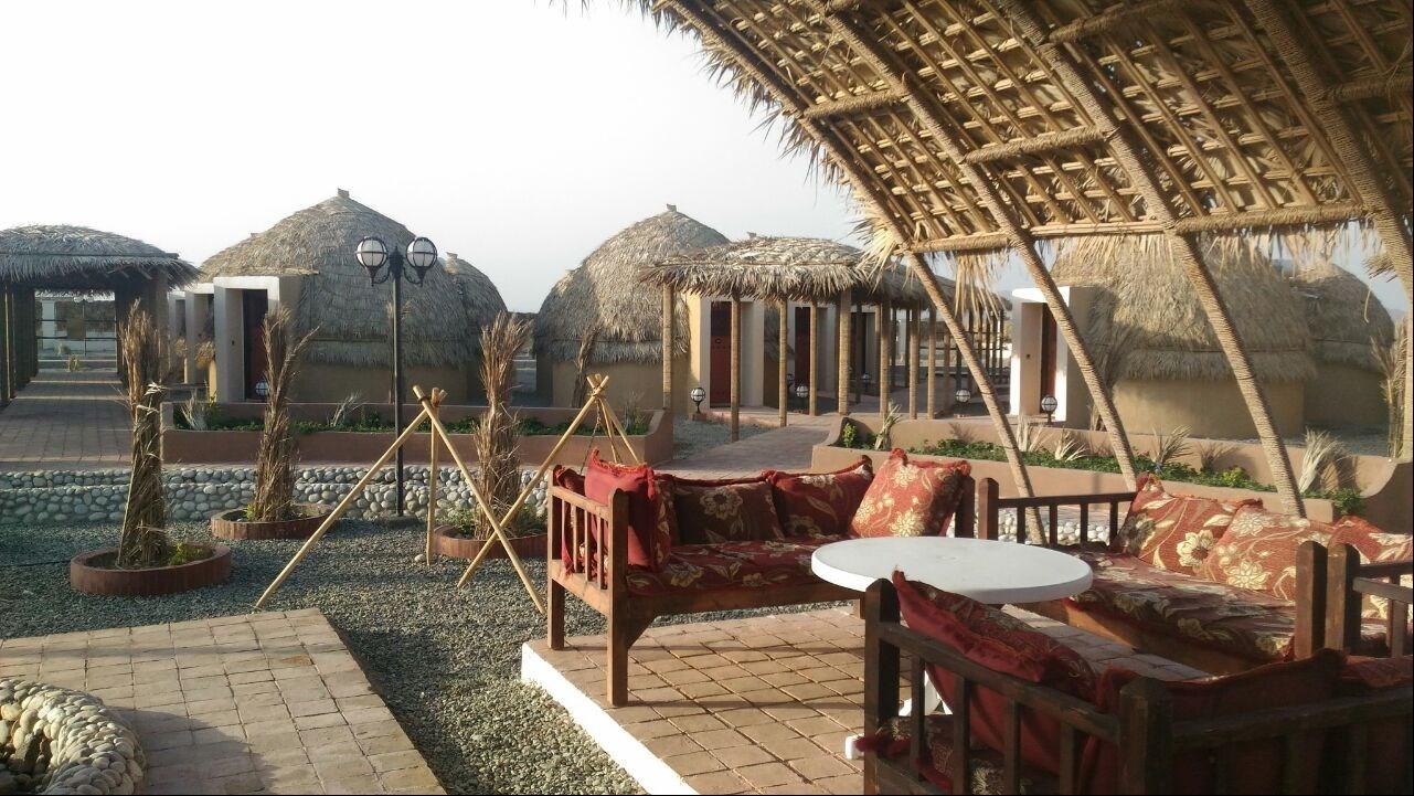 Image result for هتل کپری روستای نمونه