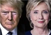 وضعیت ترامپ و کلینتون در نظرسنجیهای یک ماه اخیر چگونه است؟