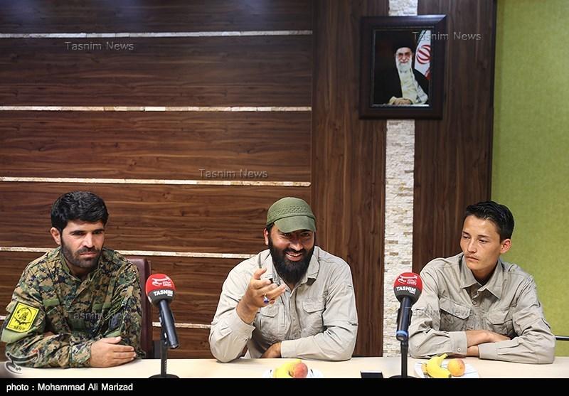 حضور 2 اسیر آزادشده فاطمیون در خبرگزاری تسنیم