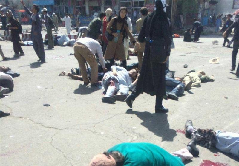 وقوع 3 انفجار در کابل 80 کشته و دهها زخمی برجای گذاشت + تصاویر