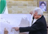 تشخیص 168 شهر تاریخی ایران با نقشه هوایی 61 سال پیش