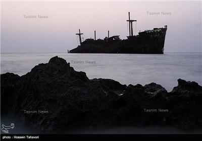 Greek Ship on Kish Island