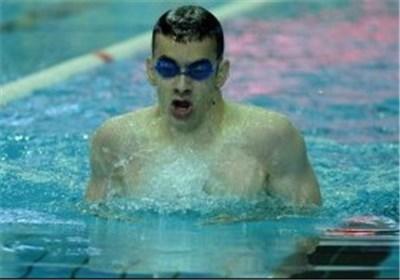 نسیمی شاد رکورد 200 متر قورباغه ایران را شکست
