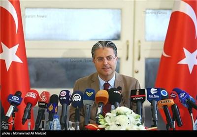 نشست خبری سفیر ترکیه در ایران