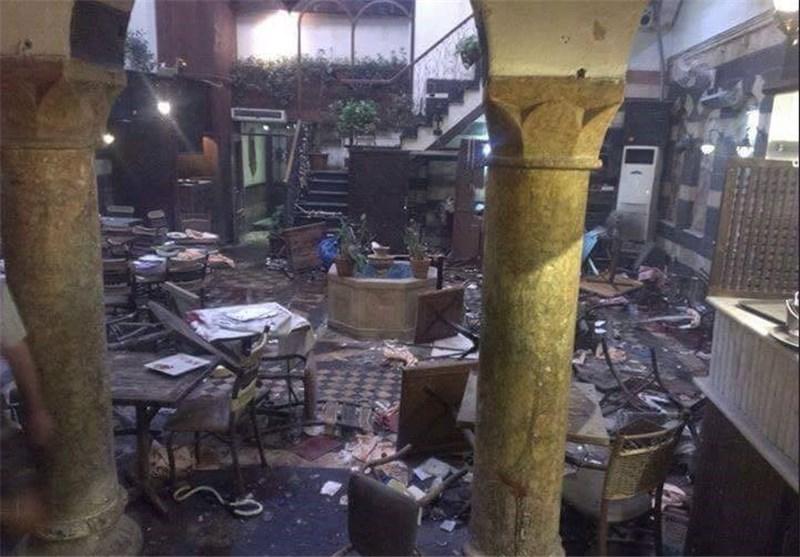 المجموعات الإرهابیة تستهدف أحیاء دمشق بالقذائف وتقطع المیاه عن سکانها