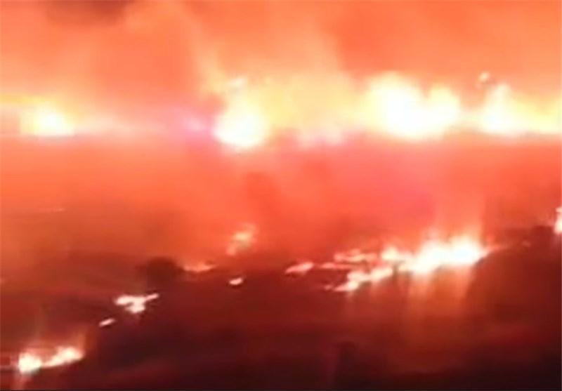 Massive Fire near NATO Base in Turkey, Possible Anti-American Sabotage