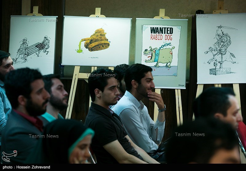 تجلیل از سید مسعود شجاعی طباطبایی، کاریکاتوریست جبهه فرهنگی انقلاب