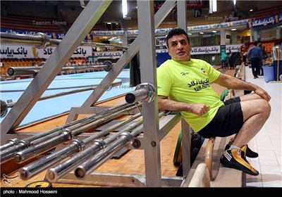Iran's Greco-Roman Wrestling Team Preparing for Rio Olympics