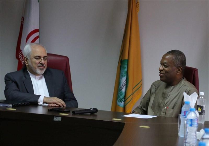 ظریف با وزیر خارجه نیجریه