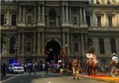 بازداشت 50 نفر در تظاهرات علیه هیلاری کلینتون در فیلادلفیا +عکس
