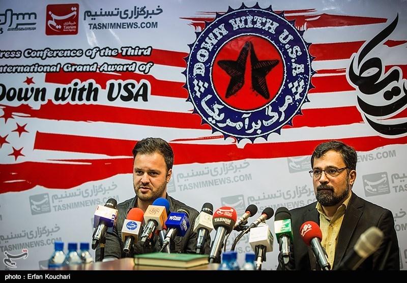 """نشست خبری سومین جشنواره """"مرگ بر آمریکا"""""""