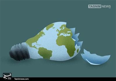 کاریکاتور/ جهانی شکننده!!!
