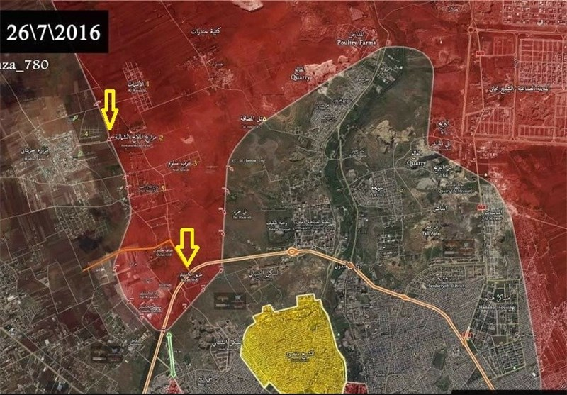 قیادة الجیش السوری تدعو المدنیین لطرد الإرهابیین
