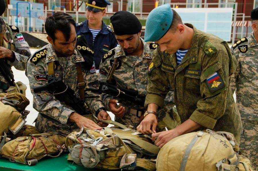 تکاوران ارتش و سپاه در روسیه